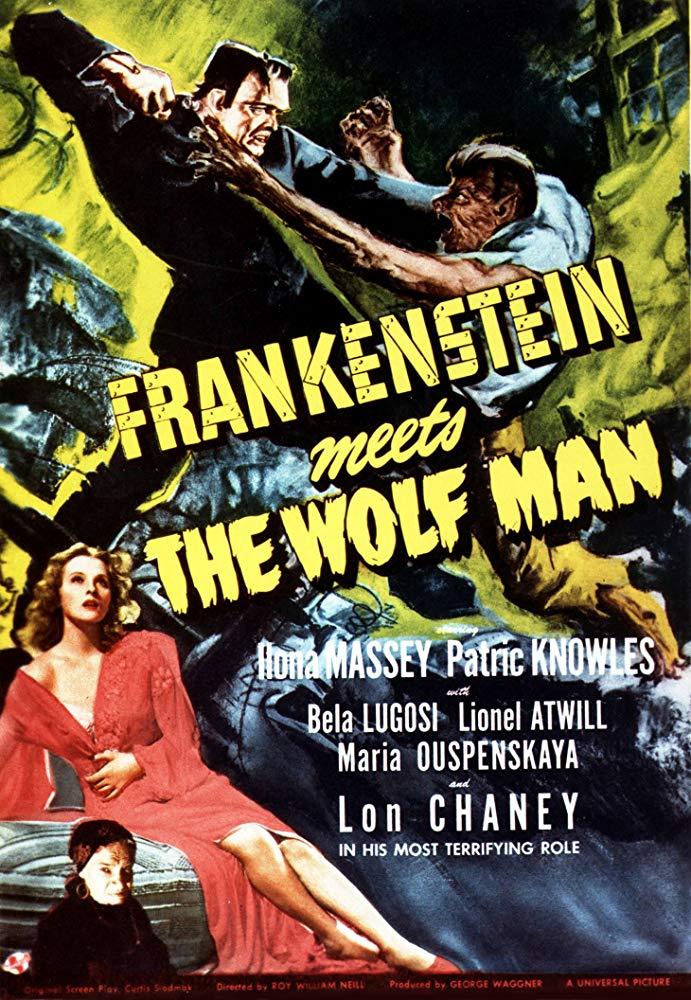 Frankenstein Trifft Den Wolfsmenschen
